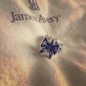 James Avery Butterfly Ring